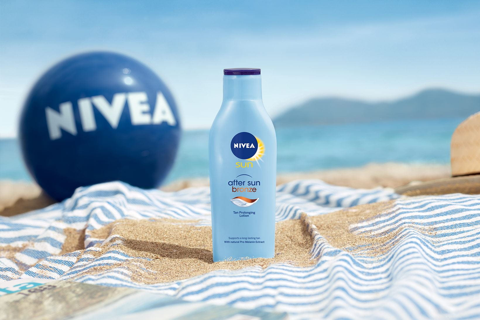 NIVEA Protect & Bronze After Sun op het Strand
